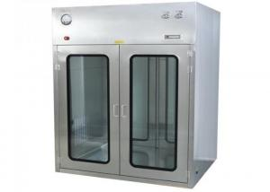 Buy cheap ISO Approved Observation Window Cleanroom Pass Box For Precise Instrument product