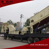Buy cheap New type energy saving mobile stone crushing and screening plant for sale from wholesalers