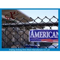 Buy cheap Galvanized Steel Chain Link Fence Diamond Wire Mesh Fence Privacy Fence from wholesalers