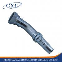 Buy cheap 24243 45 degree ORFS female flat seat hydraulic hose end fittings from wholesalers