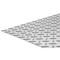 Buy cheap 2mm Thickness 5754 4x8 Aluminum Diamond Plate Sheets from wholesalers