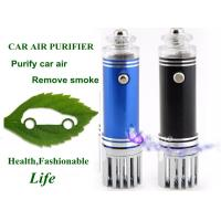 Buy cheap Red , Blue , Black Car Air Purifier ionzier Can Purify Car Air , Remove Dust from wholesalers