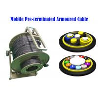 Buy cheap PDLC ODC ODVA  Fiber Optic Armoured Cable Remote Radio Head cell Tower 7.0mm BBU RRU Non-metal from wholesalers