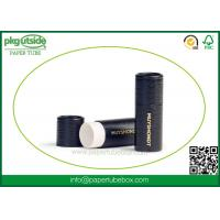 Buy cheap Luxury Round Paper Lipstick Tubes Packaging Silk Screen Printing Damp - Proof from wholesalers