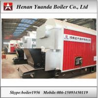 Buy cheap DZL Chain grate stoker 10 bar 6 ton 8 ton coal fired steam boiler from wholesalers