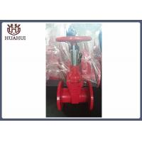 Dust - Proof Fire Protection Gate Valves , Red Color Os&Y Gate Valve DN50