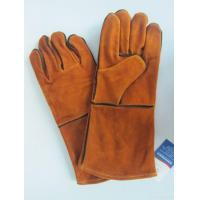 Buy cheap Best Selling Long Cow Leather Welding Gloves from wholesalers