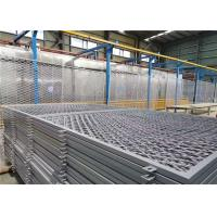 Buy cheap 75 X 150mm Square Hole Welded Razor Wire Mesh Fencing Grey Color Coated from wholesalers