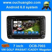 Buy cheap Ouchuangbo 7 inch car multimedia dvd for VW PASSAT CADDY Magotan with android 6.0 gps radio bluetooth iPhone from wholesalers
