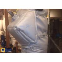 Buy cheap Thermal Insulation Covers Grey Removable Reusable Fiberglass Valve Pump Jacket from wholesalers