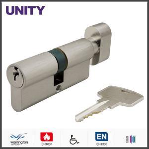 Buy cheap Brass Double Mortice Lock Cylinder En1634 Fire Tested SC Keyway EN1303 product