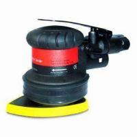 Buy cheap Air Orbital Sander with Lightweight/Composite Design, 12,000rpm Free-speed and 0.15kW Rated Power from wholesalers