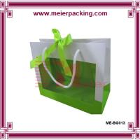 Buy cheap Personalized gift paper bag/Wedding gift bag with PVC window ME-BG013 from wholesalers