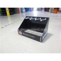 Buy cheap Customized Corrugated Cardboard Display case & PDQ box with Hooks from wholesalers