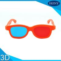 Buy cheap Kids / Adult Anaglyph 3D Glasses Red Cyan Light Weight 150 * 48 * 165mm from wholesalers