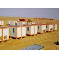 Buy cheap Sandwich Panel Flat Pack Conex Box Prefab Container Homes with Bathroom from wholesalers