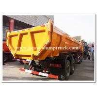 Buy cheap 336HP dump Truck HOWO A7  6x4  EURO II  Yellow with high strength steel U shape cargo body from wholesalers