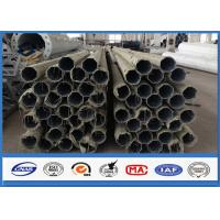 500KGS Design Load galvanised steel pipe with Bituminous Painting 30 m /s Wind Speed