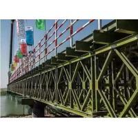 Buy cheap Temporary Steel Bridge Painted / Hot Dip Galvanized Prefabricated Foot Bridge product