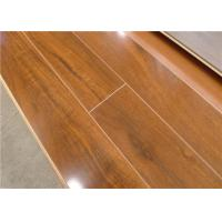Buy cheap Walnut Waterproof Laminate Flooring Waterproof for Bathroom V Groove from wholesalers