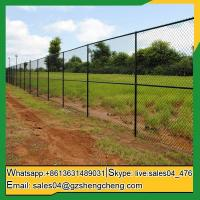 Buy cheap Paddys Green Hot sale 8 foot galvanized garden chain link fence from wholesalers