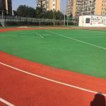 Buy cheap IAAF Standard Waterproof 13mm PU Synthetic Rubber Flooring from wholesalers