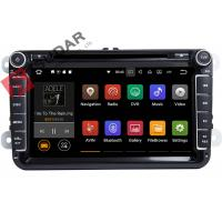Buy cheap PURE Android 7.1.1 VW Car DVD Player GPS Navigation Screen Mirroring Function product