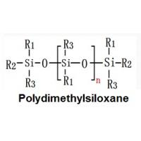 Structural formula of Polydimethylsiloxane