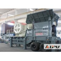 Buy cheap Highly Efficient Rock Mobile Crushing Plant Used in Building Construction and Mining Industry from wholesalers