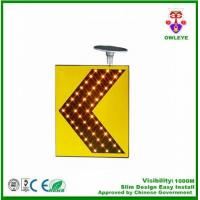 Buy cheap Manufacturer of road sign solar power led flashing traffic signal arrow board from wholesalers