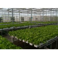 Buy cheap Good Ventilation Greenhouse Rolling Benches , Greenhouse Seedbed System 1.2 - 5.0mm Diameter from wholesalers