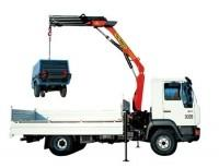 Buy cheap XCMG 6.3 Ton SQ6.3ZK2 Articulating Truck Mounted Crane With Low Price from wholesalers