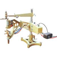 Buy cheap Civil Construction Semi Automatic Gas Cutting Machine High Effiency Extendable Line Track product