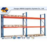 Buy cheap Corrosion Protection Pallet Warehouse Racking With Free Post Base Plate from wholesalers