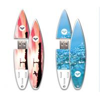 Buy cheap Plastic Novelty USB Surfboard Appearance Flash Drives Capacities 4GB - 32GB from wholesalers