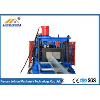 Buy cheap Blue color PLC Control Cable Tray Roll Forming Machine 2018 new design made in China GI and GP material from wholesalers