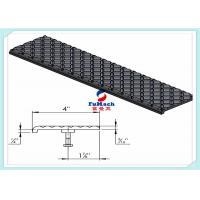 Buy cheap U / T Type 6063 Industrial Aluminum Profile With Non - Slip Stair Nosing Stair Part from wholesalers