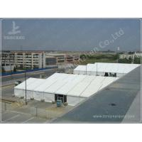Buy cheap 20X90 M Strong Heavy Duty Marquee Outside White PVC A-Frame Party Tent Excellent against Ultraviolet Rays from wholesalers