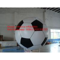 Buy cheap inflatable soccer balloon  above ground football balloon for American Cup from wholesalers