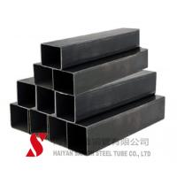 Buy cheap Black Color Rectangular Steel Tubing ERW / Hot Rolled For Auto Parts from wholesalers