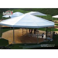 Buy cheap Aluminum Clear Span Outdoor Party Tents 10x30m For 300 People , Garden Party Tent from wholesalers