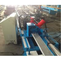 Buy cheap 20 - 25m/min High Speed Curtain Rail Roll Forming Equipment 1.5Kw Servo Motor from wholesalers