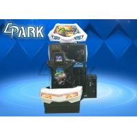 Buy cheap Hardware , Acrylic Material Driving Car Racing Game Machine For Children from wholesalers