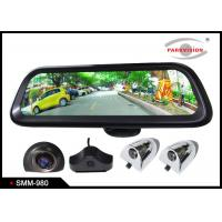 Buy cheap Android GPS 9.8 Inch Full HD Car Rearview Mirror Monitor Rear View System 4 Camera DVR Recording product
