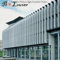 Buy cheap Sun shading operable Aerowing louver,Factory price Aerowing sun louve blades product