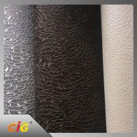 Buy cheap Plain Knitted Polyurethane Faux Leather For Sofa / Car Seat Cover product