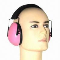 Buy cheap Slim Earmuffs, Used for Hunting and Shooting Area with Adjustable Reinforced Plastic Headband from wholesalers
