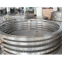 Buy cheap Custom S355+N Forged Alloy Steel Rolled Ring Forgings Flange ASTM DIN product