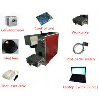portable 20w metal fiber laser marking engraving machine for jewelry stainless steel