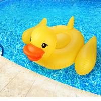Buy cheap Adults & Kids Yellow Duck Pool Raft Huge 80 Rubber Duck Inflatables Pool Float from wholesalers